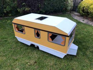 Matchbox Europa Caravan