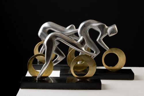 Le Tour sculpture by MARTIN GOLDIN