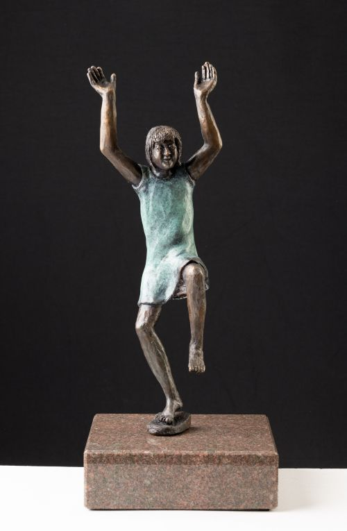 Joyful sculpture by Gillian Govan