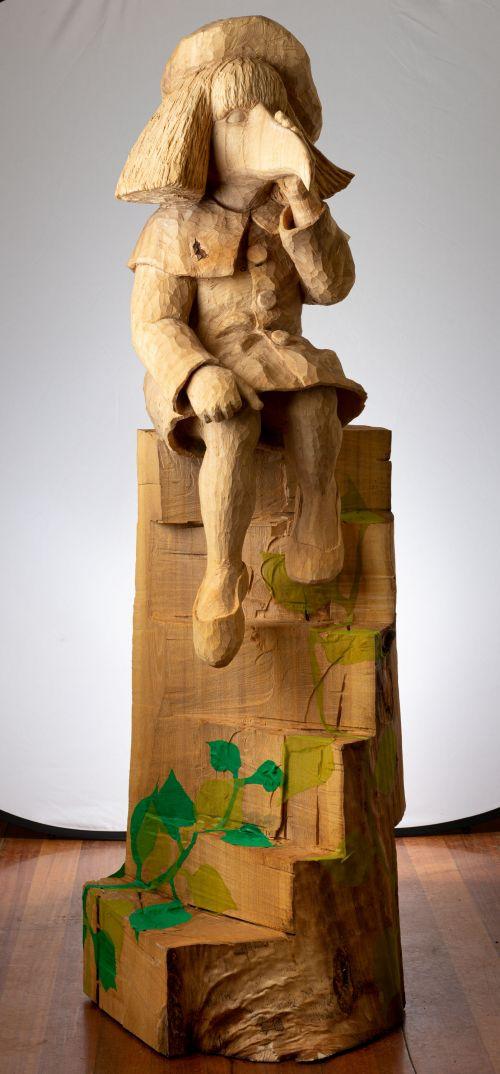 Separation and Consolidation (2) sculpture by Ilona Herreiner