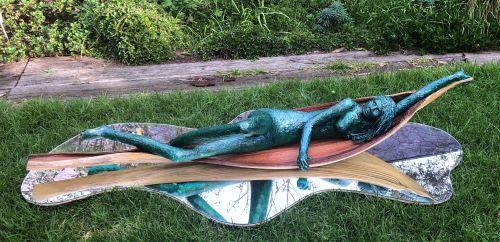 Human Bean sculpture by Lucinda Brash