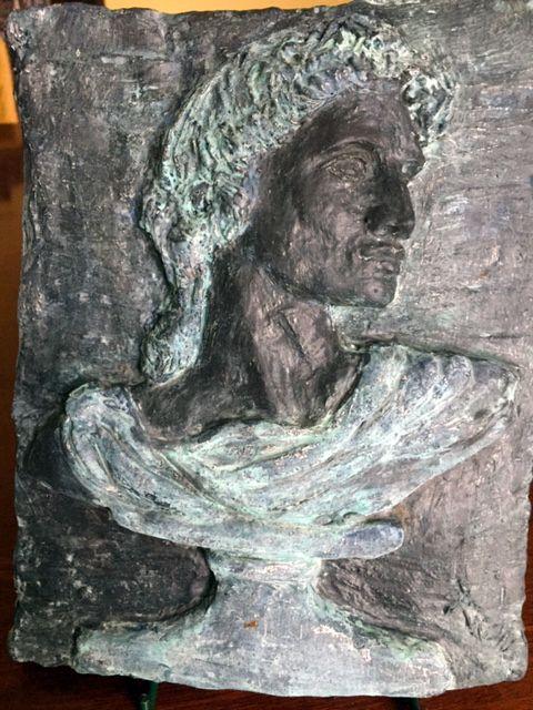 Adonois Look-alike sculpture by Bronwyn Culshaw