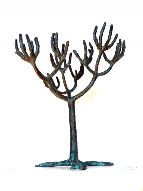 Supplicating Tree sculpture by Michael Meszaros OAM