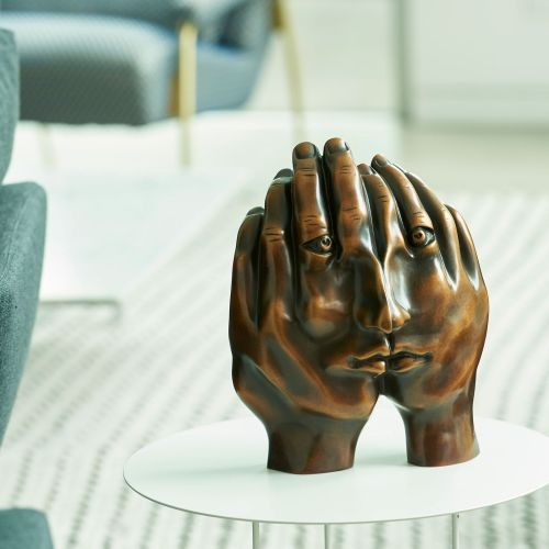 Dreamers Hands sculpture by Todd Lyndon Stuart