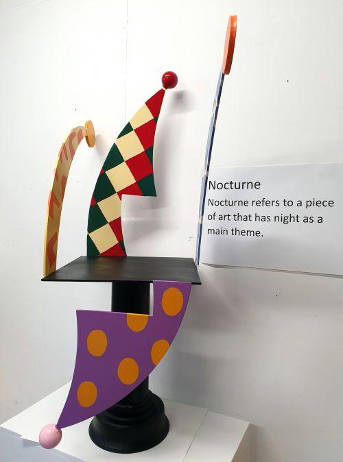 Nocturne #3 sculpture by Bruce Webb