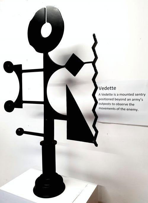 Vedette sculpture by Bruce Webb