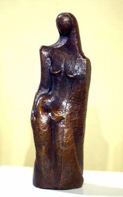Figure with a cloak