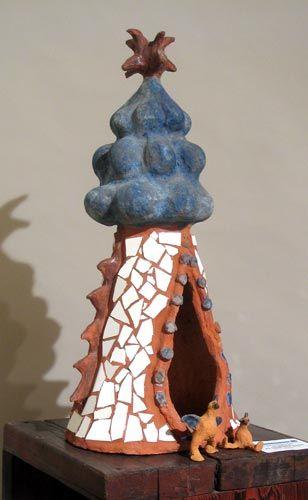 Gaudi Bird House