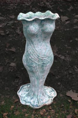 Art Nouveau vase form