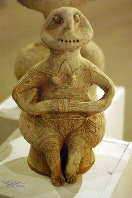 Vegetation Goddess of Bulgaria (Chalceolithic)