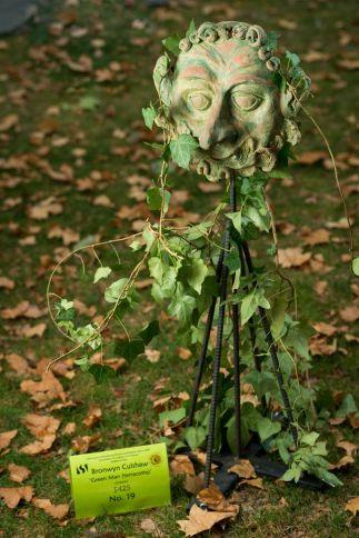 Green Man (terracotta)