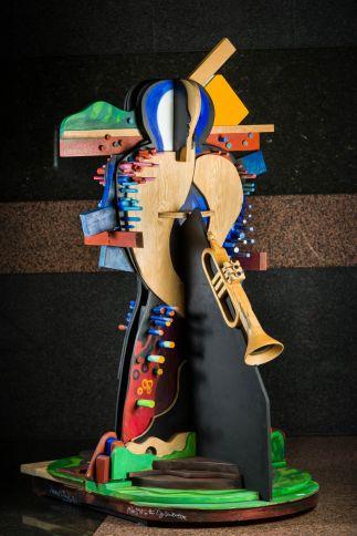 Miles Davis in the Oz Landscape