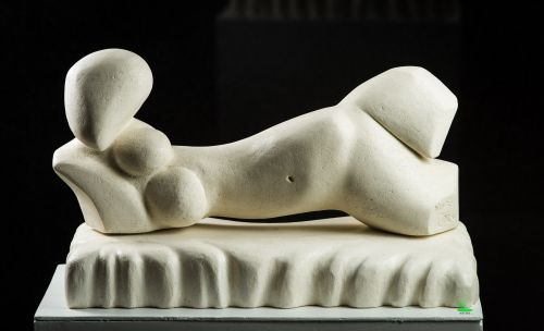 Reclining Nude sculpture by Carmel Ritchie